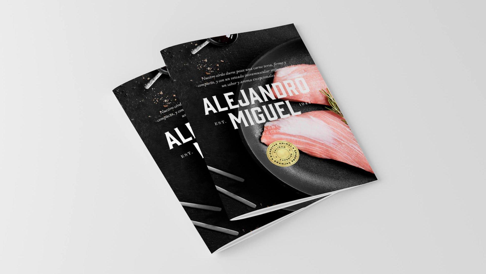diseño-catalogo-producto-carne-cerdo-duroc-alejandro-miguel