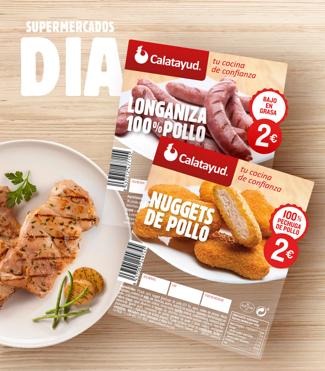 packaging-nuggets-longaniza-pollo-calatayud-supermercados-dia