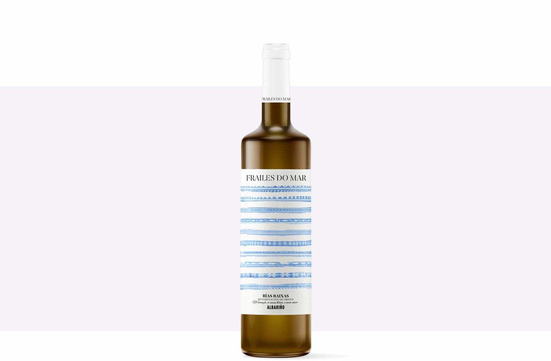 diseño-packaging-etiqueta-vino-frailes-do-mar-albariño-vino-galicia