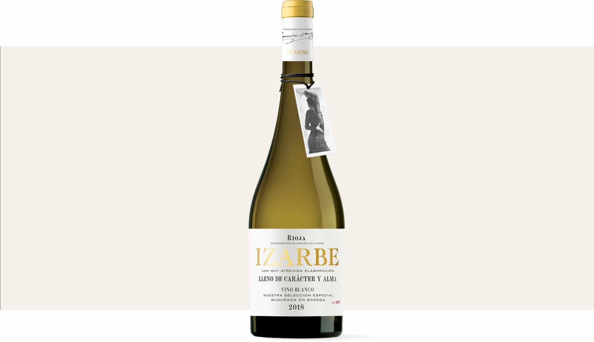 packaging-diseño-etiqueta-vino-izarbe-blanco-bodegas-familia-chavarri