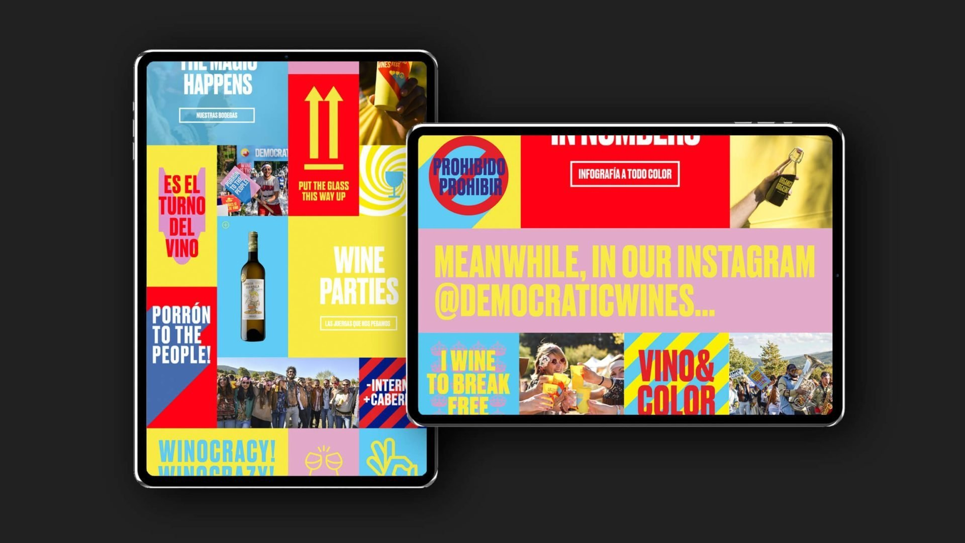 digital-diseño-tablet-vino-democratic-wines-vermu-el-bandarra
