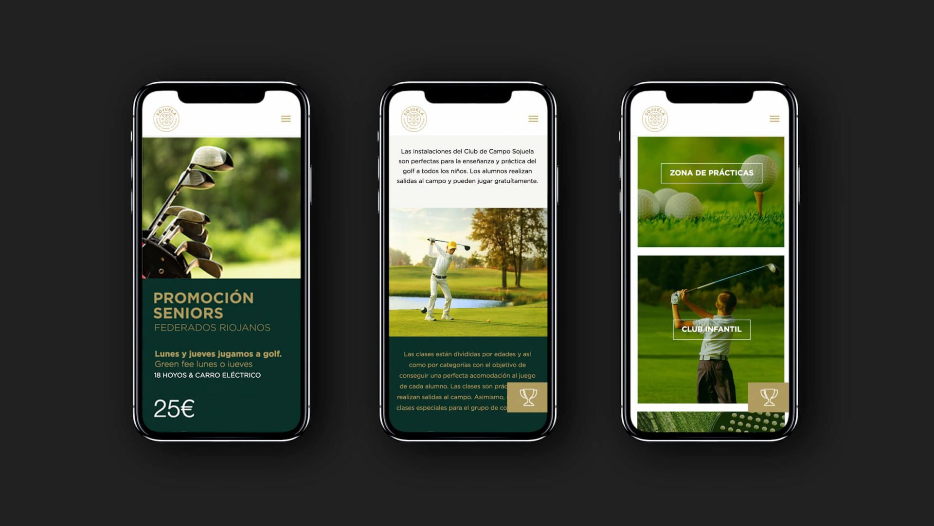 web-digital-responsive-mobile-club-campo-golf-sojuela-logroño-la-rioja